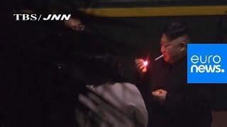 Watch: Kim Jong Un pauses for cigarette break during marathon train trip