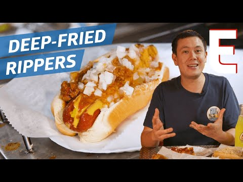 Xxx Mp4 How Deep Fried Hot Dogs Became A Miami Favorite — Dining On A Dime 3gp Sex