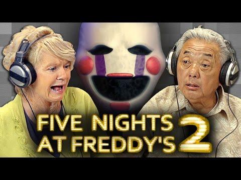 Elders Play Five Nights at Freddy's 2 (Elders React: Gaming)