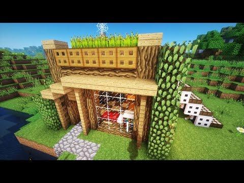 Самые лучшие дома в майнкрафте видео как строить