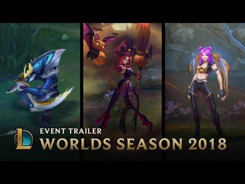 Xxx Mp4 Welcome To Worlds Season Worlds Season 2018 Event Trailer League Of Legends 3gp Sex