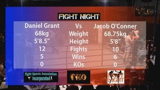 Fight Night 54 - Bout No.5 - Daniel Grant Vs Jacob O'Conner - Full Thai