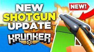 This *NEW* SHOTGUN in Krunker.io is INSANE (new gameplay)