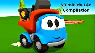 Compilation 30 min de Léo le camion. Dessins animés éducatifs