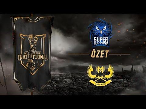 SuperMassive eSports ( SUP ) vs GIGABYTE Marines ( GAM ) 4. Maç Özeti   MSI 2017 Ön Eleme 3. Tur