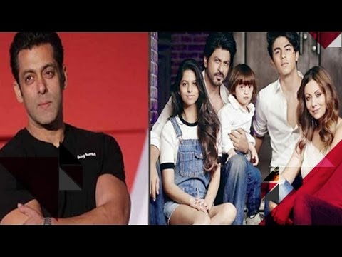 Salman Khan Made Vivek Feel Uncomfortable | Shahrukh Khan's Family Picture Goes Viral On Internet