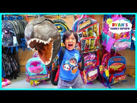 BACK TO SCHOOL SHOPPING with Ryan s Family Review