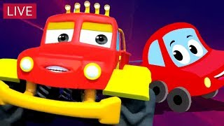 Little Red Car   Car Stories And Videos For Kids