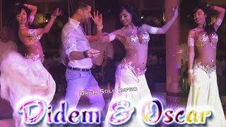 Didem Kinali & Oscar Flores - Belly Dance Drum Solo Improvisation