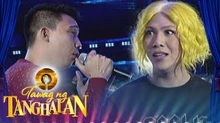Tawag ng Tanghalan: One of the madlang people serenades Vice Ganda