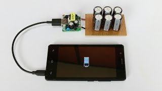 How To Make Free Energy Mobile Charger From Super Capacitor