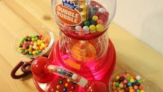 The Dubble Bubble Gumball Machine Phone ~ 電話付ガムボールマシン!
