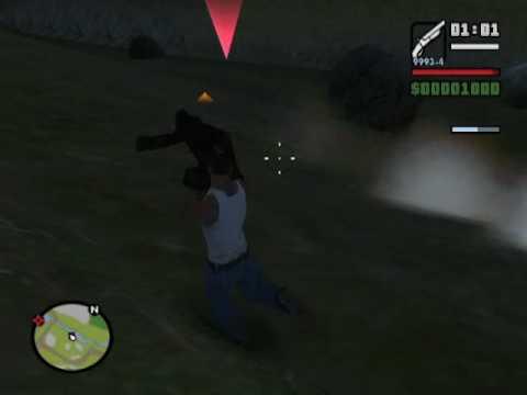 Matando a Pie Grande GTA San Andreas