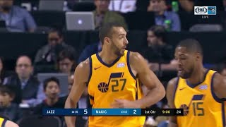 1st Quarter, One Box Video: Orlando Magic vs. Utah Jazz