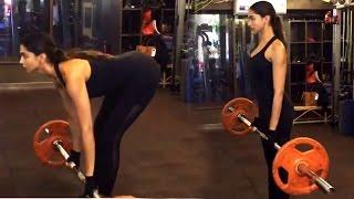 XXX Movie- Deepika Padukone's Heavy Weight Workout For Vin Diesel- LEAKED