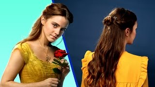 Beauty and the Beast Hair Tutorial | Disney Style
