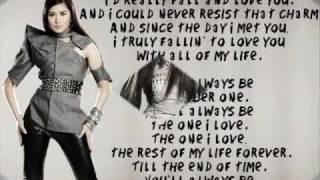 Sarah Geronimo   You'll always be my number one LYRICS