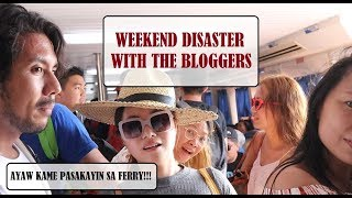 Weekend Disaster With My Blogger Friends