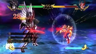 100% Hades Combo - Saint Seiya: Soldiers' Soul