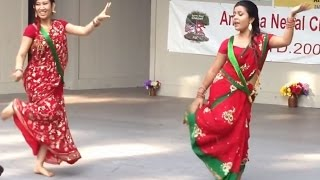Teej Stage Dance in the USA, Song Malai Kasti Dekhinchha by Reshma Sunuwar [Full HD]