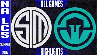Team Solomid vs Immortals Highlights ALL GAMES Grand Final NA LCS Playoffs Summer 2017 TSM vs IMT