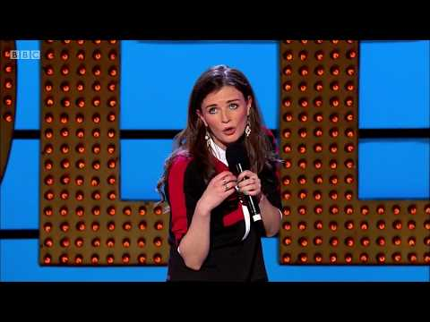 Stand up comedy Aisling Bea. Not viewable in UK Ireland. Apr 2015
