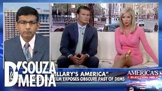 Fox & Friends: D'Souza Says The Clintons Have a History of Racial Insensitivity, Not Trump