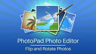 PhotoPad Photo Editor Tutorial | Flip and Rotate Tools