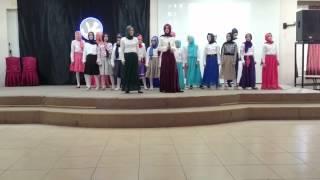 Tekkeköy İmam Hatip Ortaokulu - İngilizce Korosu - Thank You Very Much O Allah