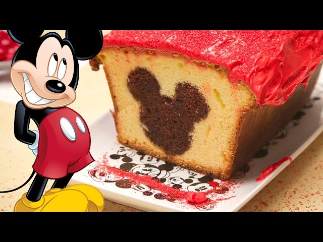 Mickey Mouse Peekaboo Cake | Dishes by Disney