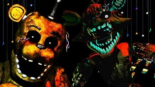 NIGHTMARE MODE COMPLETE | Five Nights at Freddy's 3 - Part 5