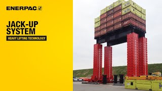 Jack-up System | Enerpac Heavy Lifting Technology