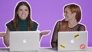 Anna Kendrick, Anna Camp, and Brittany Snow Find Out Which