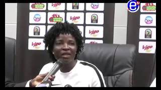 COACH NIGERIA APRES LE MATCH NIGERIA VS MALI