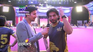 Watch Roli and Siddhant go crazy cheering for Lucknow Nawabs