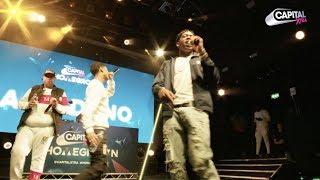 AJ X Deno And EO Perform 'London' At Capital XTRA Homegrown Live