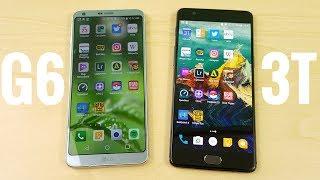 LG G6 vs OnePlus 3T Speed Test!