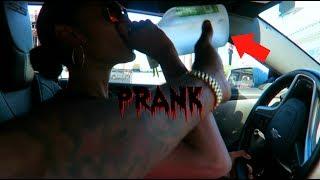 DRINKING & DRIVING PRANK (GONE WRONG)