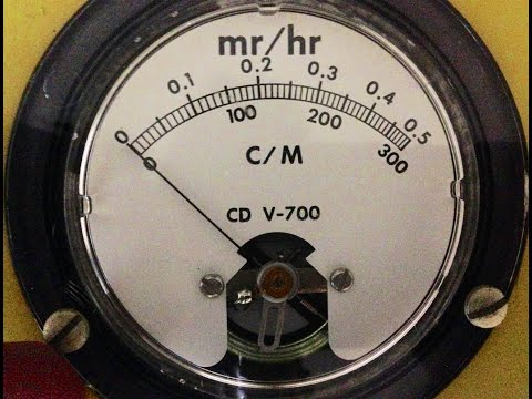 Download Victoreen Geiger Counter CDV-700 HD Mp4 3GP Video and MP3