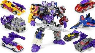 Transformers Combiner Wars Thunder Cracker + Menasor Combine ThunderMenasor Car Robots Toys