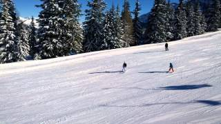 Aprica, Italie, leden 2014 - foto a video