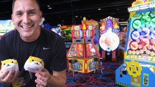 Winning Jackpots and Prizes at Round 1!