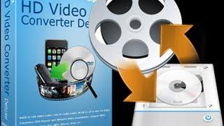WinX HD Video Converter Deluxe Review & Demo