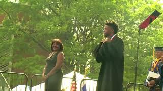 #WakandaForever at Howard University's commencement
