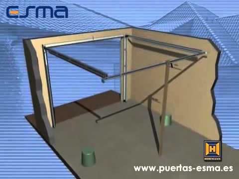 Instalación Puerta de Garaje Seccional Puertas ESMA Distribuidor Oficial Hormann