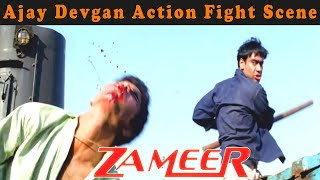 Ajay Devgan Action Fight Scene From Zameer: The Fire Within Movie