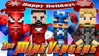 Minecraft MineVengers -CHRISTMAS DAY AT THE MINEVENGERS H.Q!!!