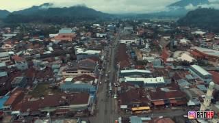 Rantepao from the Bird Eye View (Teal & Orange Theme)