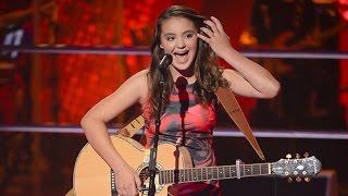 Martha sings Mountain Sound | The Voice Kids Australia 2014
