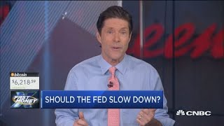 Should the Fed slow down? The Fast Money traders debate it